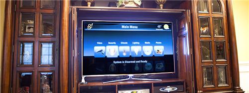 ELAN g! 系统的电视界面