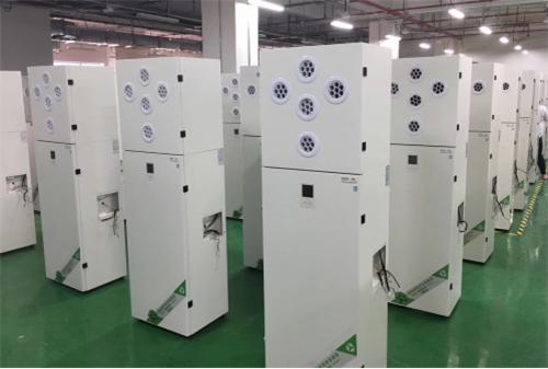 狄耐克智能新风系统产品展示