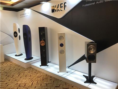 KEF多种音箱展示