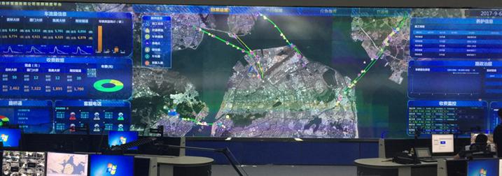 四桥一隧超视觉指挥中心 大华设备全面保障