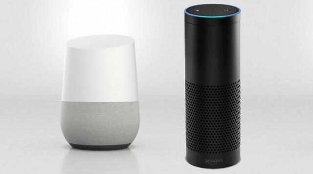 谷歌Home与亚马逊Echo
