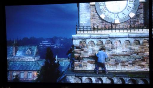 PS4 Pro 4K游戏画面实拍