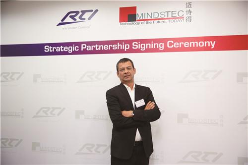迈诗得CEO Syed Abdul Wahab先生