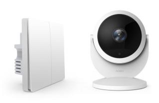 Aqara智能摄像机(网关版)&墙壁开关(Zigbee版)