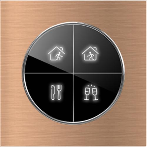 狄耐克智圆系列集控面板