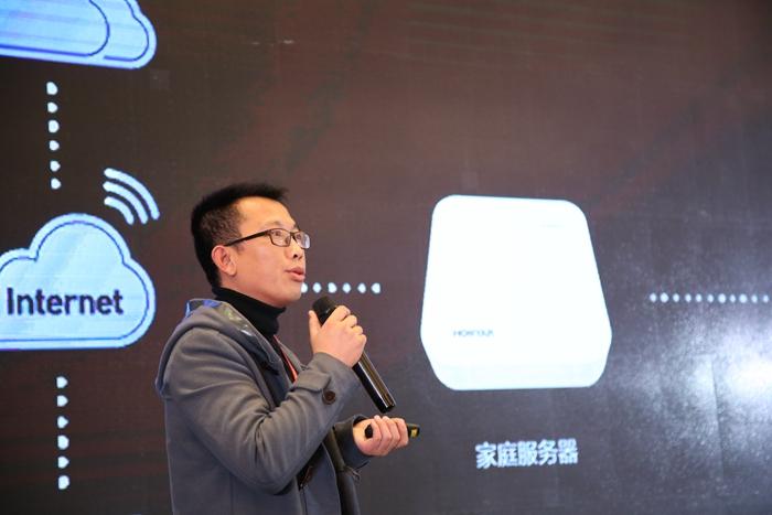 杭州鸿雁电器有限公司智能家居销售总监张汇文先生
