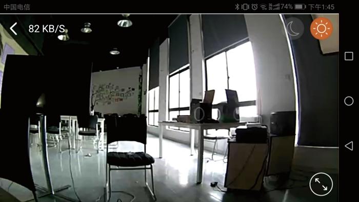 手机视频监控,也可以切换日夜两种模式。