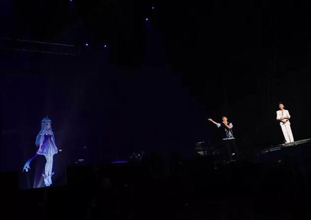 琥珀在羽泉二十周年演唱会(2017.12.24)