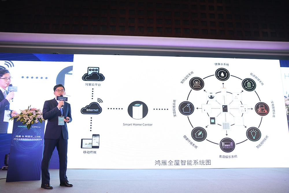 HONYAR鸿雁&阿里云_Link全屋智能系统解决方案