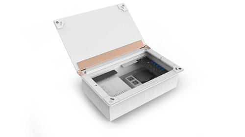 铂晶SM-D-R家用弱电箱