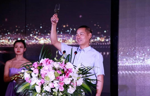 中国建筑业协会智能建筑分会会长黄久松会长致辞