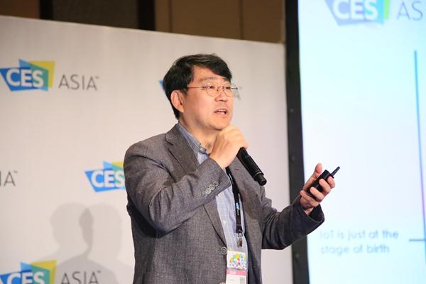 开放互联基金会OCF执行董事John Joonho Park博士