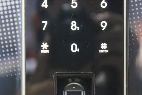 触摸键盘特写