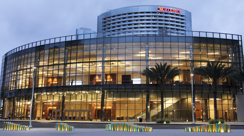 A View of the Marriott Marquis San Diego Marina