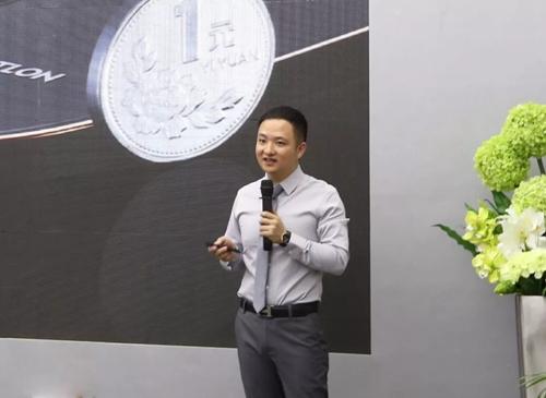 汇泰龙CEO徐振忠先生介绍新品